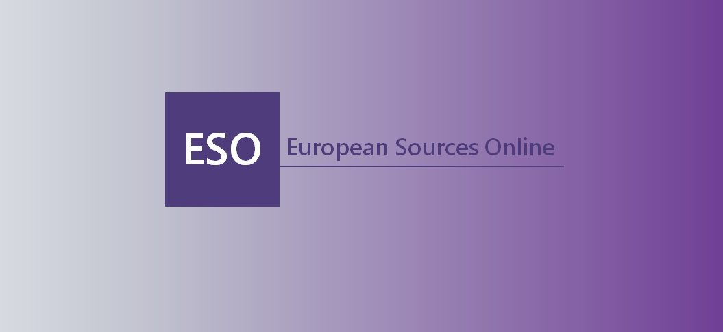 Welcome to the new European Sources Online!